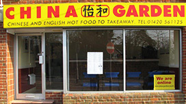Contact Us - Chinese Garden Takeaway